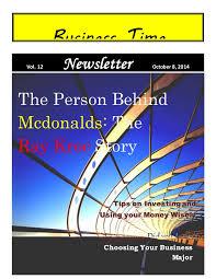 Sample Business Newsletter Interesting Sample Newsletter 48 Page