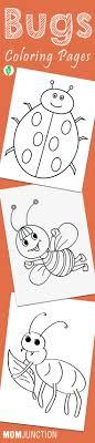 Top 17 Free Printable Bug Coloring