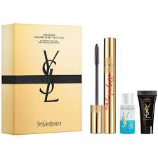 Yves Saint Laurent Mascara Babydoll + Eye Makeup Remover + Top ...