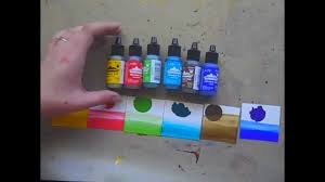 Adirondack Alcohol Ink Colour Chart Ranger Ink Tim Holtz New Alcohol Ink Colors