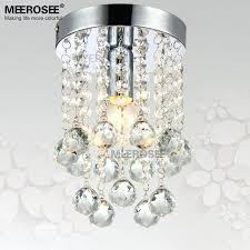 small chandelier lighting 1 light crystal chandelier light fixture small clear crystal re lamp for aisle small chandelier lighting