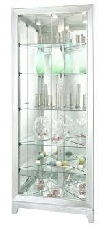 curio cabinets with glass doors miller five shelves silver corner cabinet display door hardware