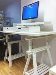 corner extra tall standing desks ikea hackers ikea hackers extra tall but adjule standing desk