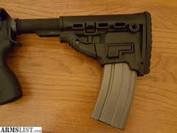 Ar Magazine Holder ARMSLIST For Sale Fab defense AR100 Stock with magazine holder 15