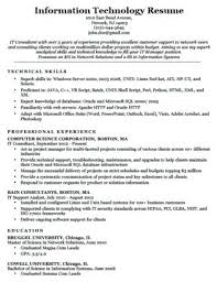 Technology Cover Letters Information Technology Cover Letters Cover Letter Information Parts
