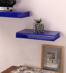 acrylic floating shelves uk lighted white