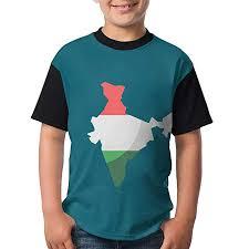 Amazon Shirt Size Chart India Amazon Com Young Adults Raglan T Shirt India 3d Digital