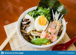 Seafood Soup With Vegetables Asian Food ...