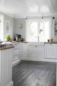 Wood Floor In The Kitchen 17 Best Ideas About Grey Wood Floors On Pinterest Grey Hardwood