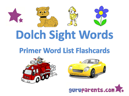 dolch primer reading fluency with dolch words guruparents