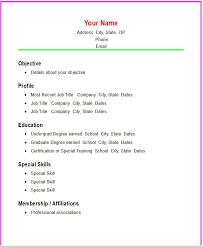 basic format of a resume easy resume format 19 basic resume format pdf suiteblounge com