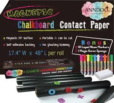 Magnetic Chalkboard Contact Paper 48x17 ...