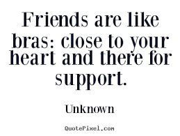 Pictures With Quotes About Friendship Unknown's Famous Quotes QuotePixel 56