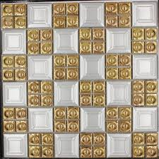 mosaic tile for backsplash tile gold