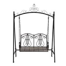 find marquee rustic iron 2 seater swing at bunnings warehouse visit your local for