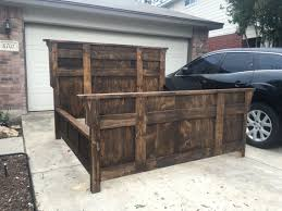 Rustic Bed Frames Plans — Expowest Africa : Dreaming Of Rustic King ...