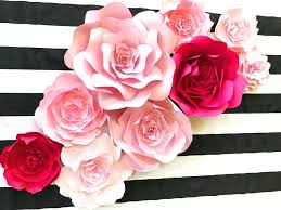 spade inspired paper flower wall decor large backdrop giant flowers photo shoot props tutorial p