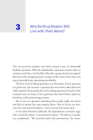Freakonomics Ch3 Why Do Drug Dealers Live With Their Moms 1
