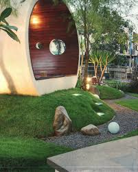 Lawn & Garden:Japanese Garden Bamboo Fountain Water Feature Design Ideas  Beautiful Rustic Home Facade