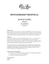 Sponsorship Contract Template Mesmerizing Example Sponsorship Contract Template For Vancouvereastco