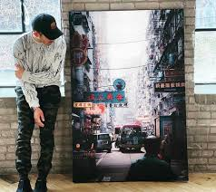 large urban wall art prints for
