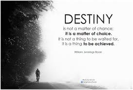 Destiny Quotes Beauteous William Jennings Bryan Destiny Is Not A Matter Of Chance Flickr