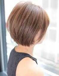 後ろ姿もかわいいショートsg 340 ヘアカタログ髪型ヘア