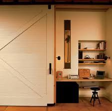 office barn doors. this home office brings a barn doors