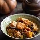 bermese squash and tofu stew