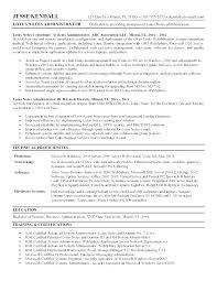 System Admin Resumes Linux Resume Template