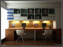 person home office. Two Person Desk Home Office Decor Modern With Classy Design Decoration For E