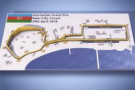 Video Guide Azerbaijan Grand Prixs Baku F1 Street Circuit