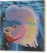 Rainbow Devil Fish Painting by Dianna Lewis