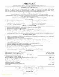 Top Result 60 Inspirational Real Estate Resume Sample Pic 2018 Lok9