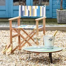 scandinavian outdoor furniture. Scandinavian Print Garden Directors Chair Outdoor Furniture