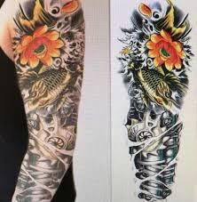 временные татуировки мультяшные тату наклейки татуировка с полным плечом