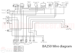110cc atv wiring harness ignition switch 110cc wiring diagrams chinese atv wiring harness diagram at Tao Tao 110 Wiring Harness