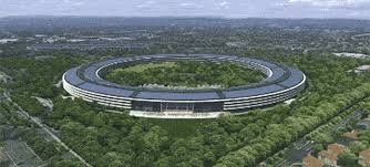 this flyover shows what apples new hq will look like from the air apple new office