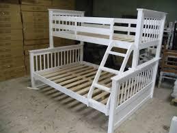 PALOMA - TWIN / DOUBLE BUNK BED FRAME - WHITE WINNIPEG FURNITURE ...