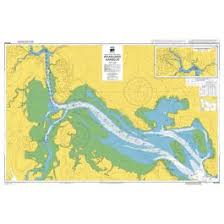 Admiralty Chart Nz5215 Whangarei Harbour