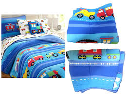 cotton toddler bedding unique trains air planes fire trucks construction boys twin full 100 sets
