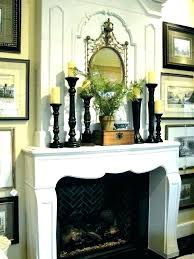 candle holder for fireplace mantel new holders h