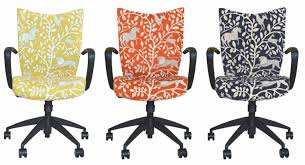 office chair upholstery. Desk Chair Upholstered In DwellStudio Fabric | Office Chairs Home Or Upholstery