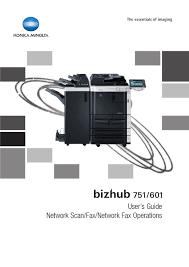 Konica minolta bizhub 601 black and white multifunction printer driver, software download for microsoft windows, macintosh and unix. Konica Minolta Bizhub 751 User Manual Pdf Download Manualslib