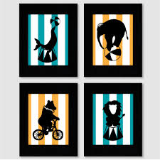 Circus Silhouette Art | Crafts | Pinterest | Silhouette art ...