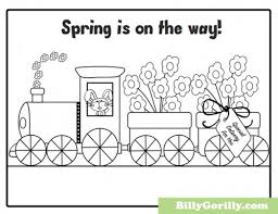 Small Picture Printable Spring Coloring Pages Coloring Coloring Pages