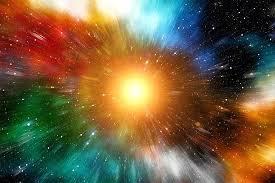 multicolored galaxy wallpaper rays