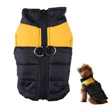 New Winter Warm Pet Dog Clothes Small Waterproof Dog Coat Jacket ... & New Winter Warm Pet Dog Clothes Small Waterproof Dog Coat Jacket Winter  Quilted Padded Puffer Pet Adamdwight.com