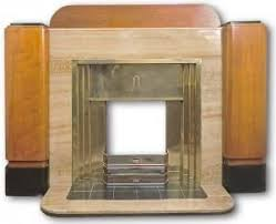 Art Deco Polished Gas  Fireplaces U0026 Wood Burning Stoves In East Art Deco Fireplace