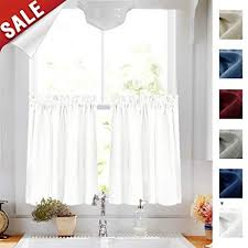 Tiered Kitchen Curtains